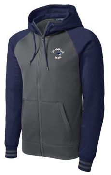 Picture of Sport-Tek® Sport-Wick® Varsity Fleece Full-Zip Hooded Jacketl (ST236)